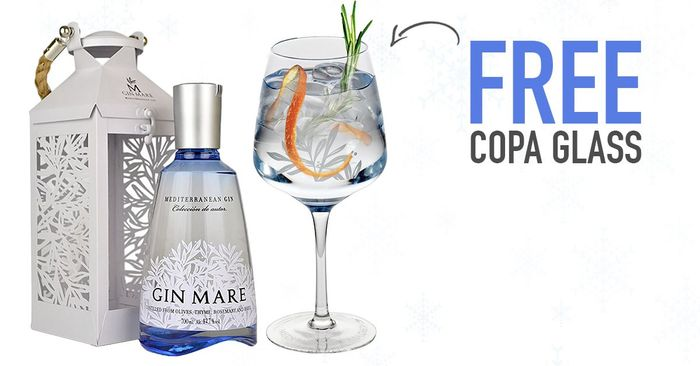 Free Copa Glass with Every Purchase of Gin Mare