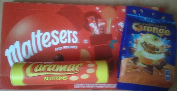 Asda Christmas Sweets Selection Boxes From 25p