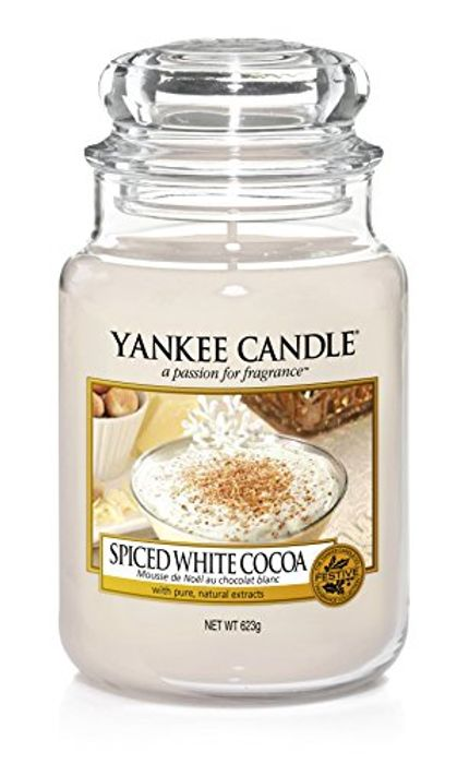 Spiced White Cocoa Large Yankee