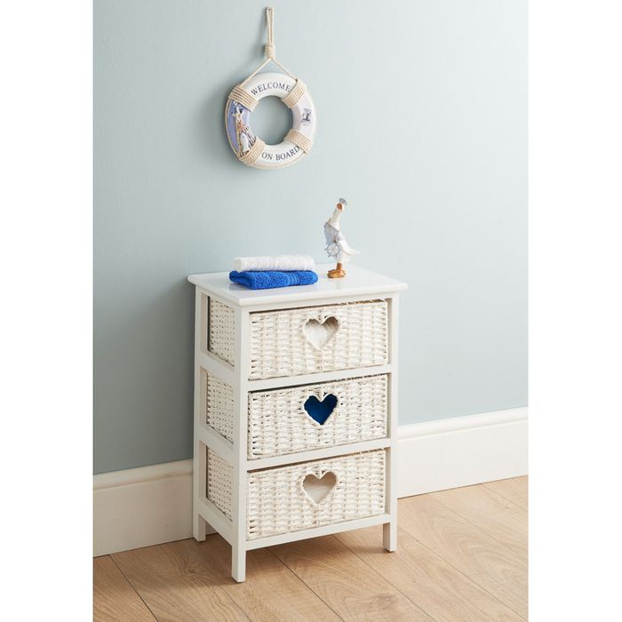 Wicker 3 Drawer Chest 24 99 At B M Latestdeals Co Uk