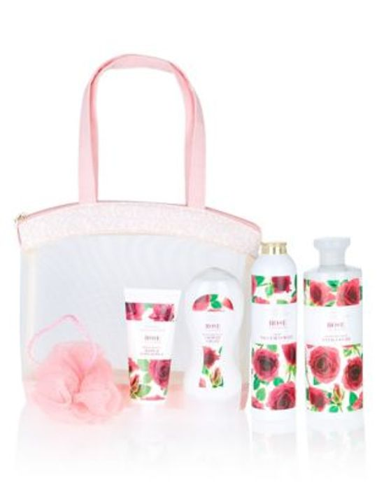 M&S Rose Toiletry Bag Giftset