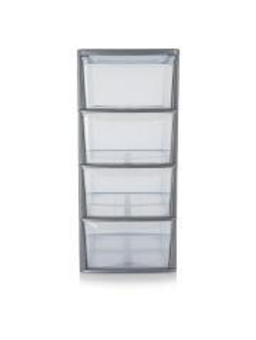4 Drawer Storage Unit Free C&C