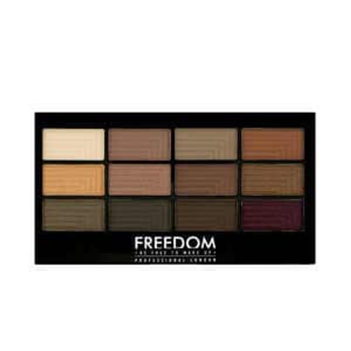 Freedom Pro 12 Eyeshadow Palette Secret Rose