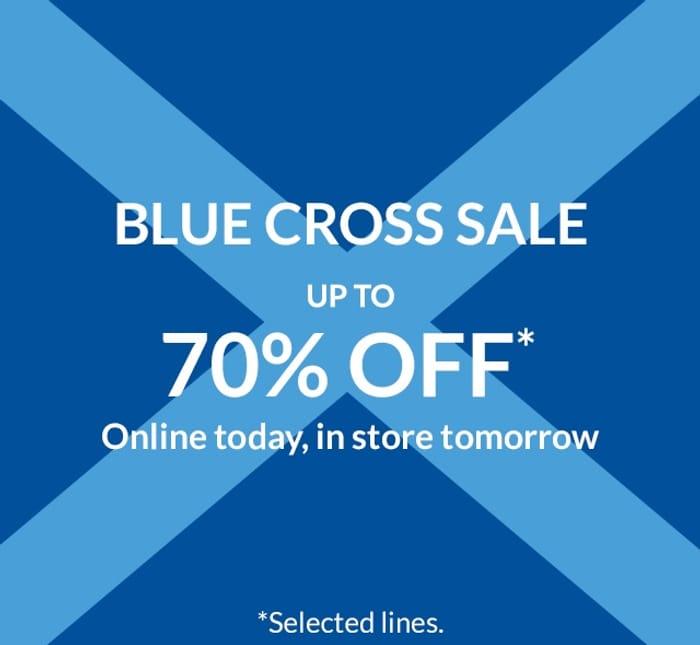 Upto 70% off Debenhams Online and In-Store.