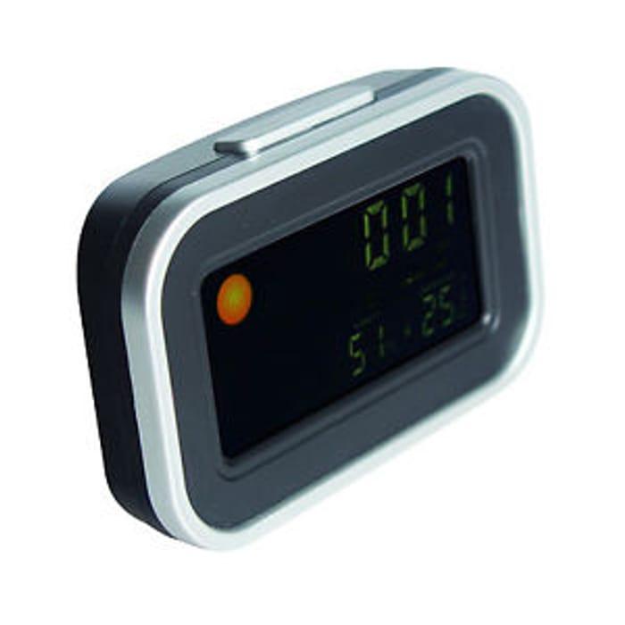 Desktop LCD Display Weather Clock with Alarm Calendar at Maplin/ebay