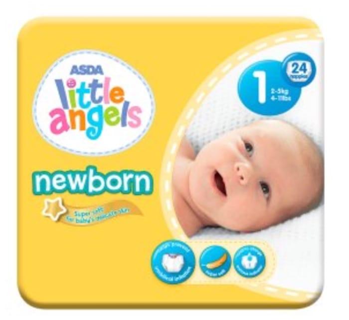 ASDA Little Angel Nappies (Rollback)