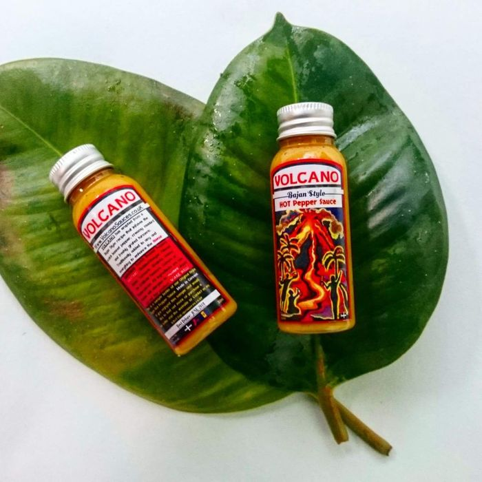 Free Volcano Hot Sauce (Choice of Hot, Mild or Both!)