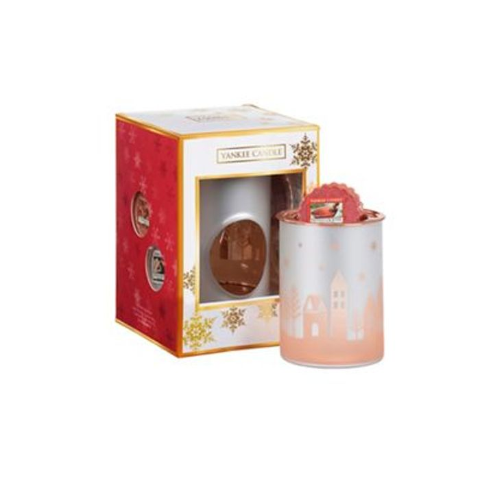Yankee Candle - Christmas Candles and Melt Cup Warmer Gift Set