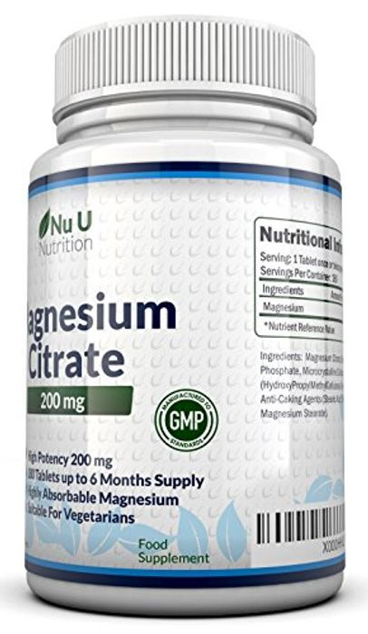 Magnesium Supplement £1 with Code