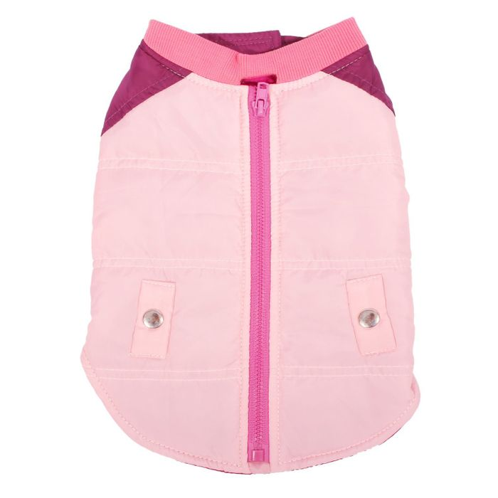 Dogs Vest Winter Cover Orange,pink and Blue save £8.99