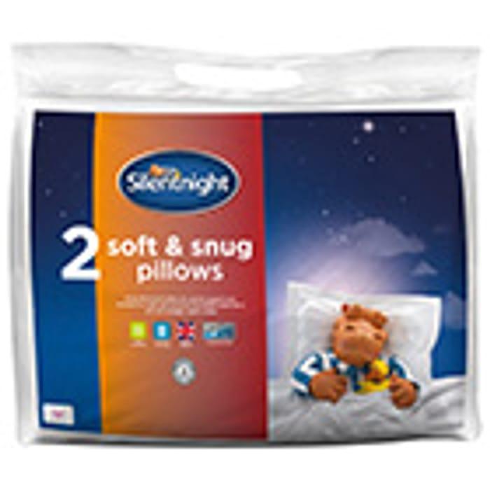 Silentnight Soft & Snug Pillow Pair