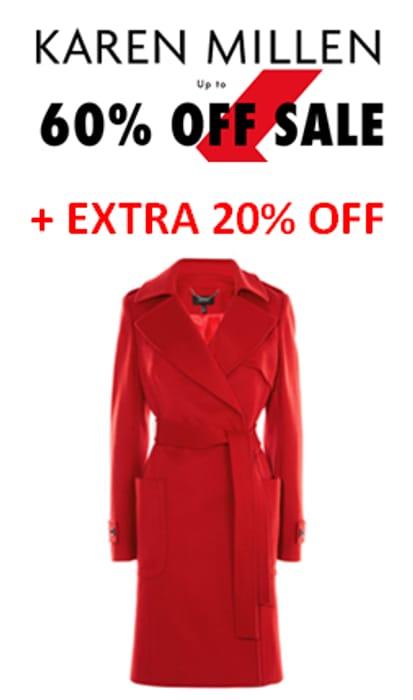 Karen Millen Sale - up to 60% Off. Plus EXTRA 20% OFF BOOST