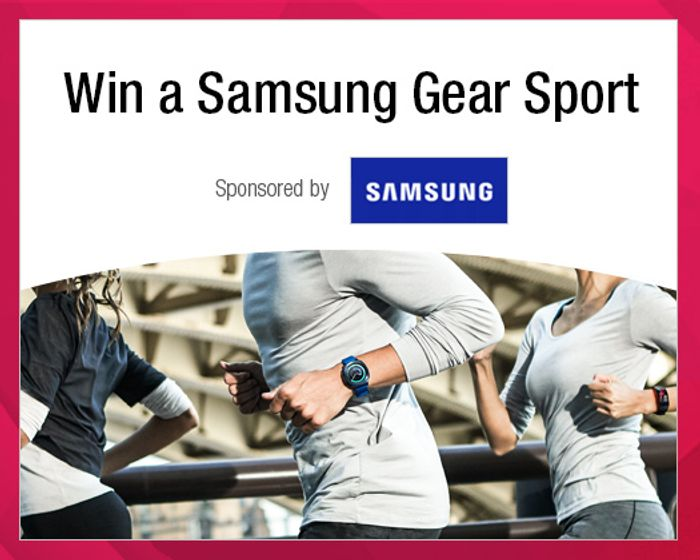 Top Cash Back - Win a Gear Sport Smartwatch