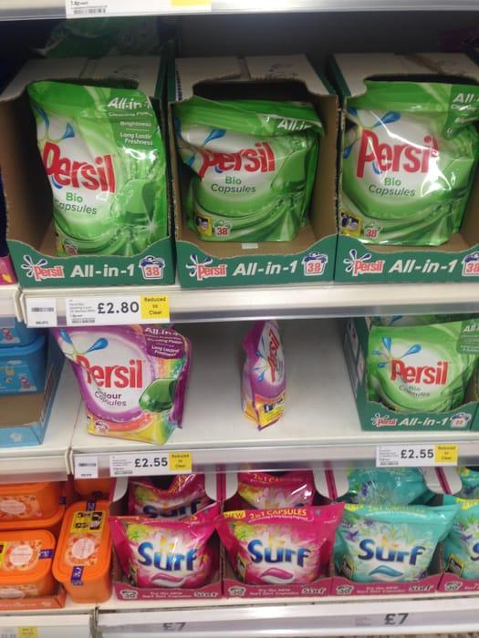 Persil 38 Wash £2.80