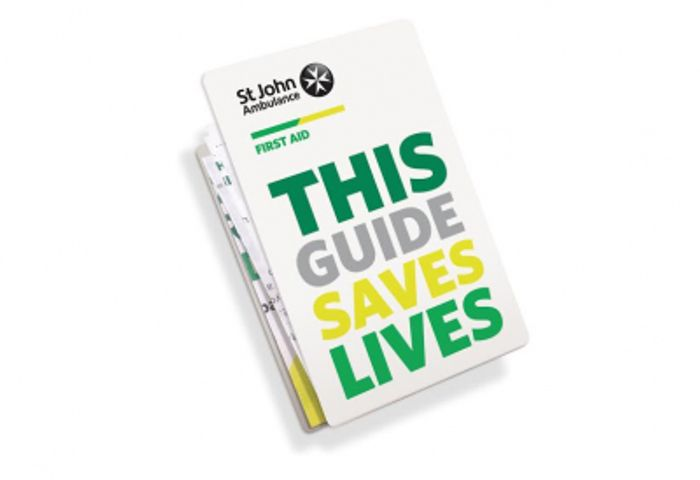 Free Pocket First Aid Guide from St Johns Ambulance