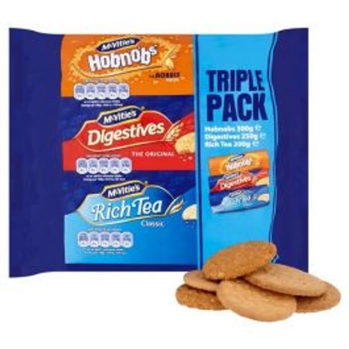 Mcvities Triple Variety Pack 750g