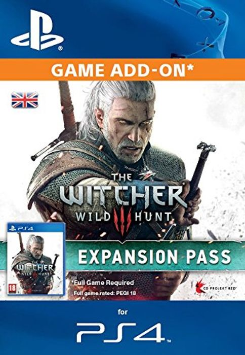The Witcher 3: Expansion Pass Download (PS4)