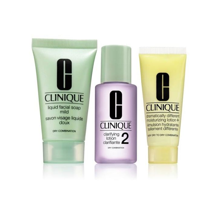 Free Clinique 3 Step Skin Trial Kit (From Selected Boots Stores)