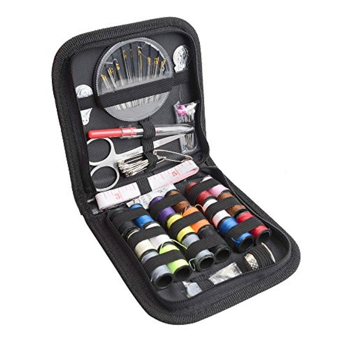 Sewing Kit Travel Needles Thread Scissor Button Handcraft 70 Packs Accessories
