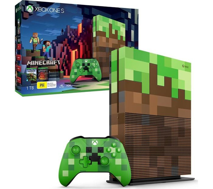 MICROSOFT Xbox One S Minecraft Limited Edition