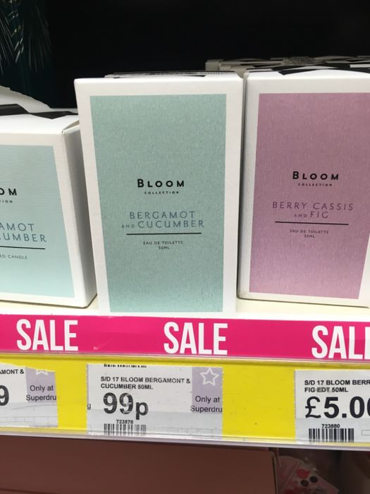 Bloom Collection Eua Du Toilette