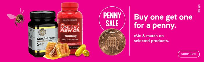 £5 off Orders over £45 at Holland and Barrett