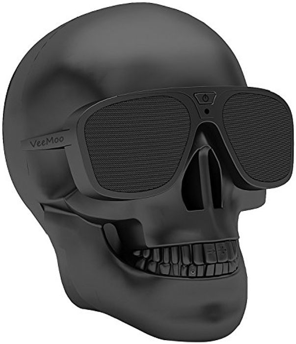 Veemoo Skull Wireless Bluetooth Speaker 4000mAh for Major Device