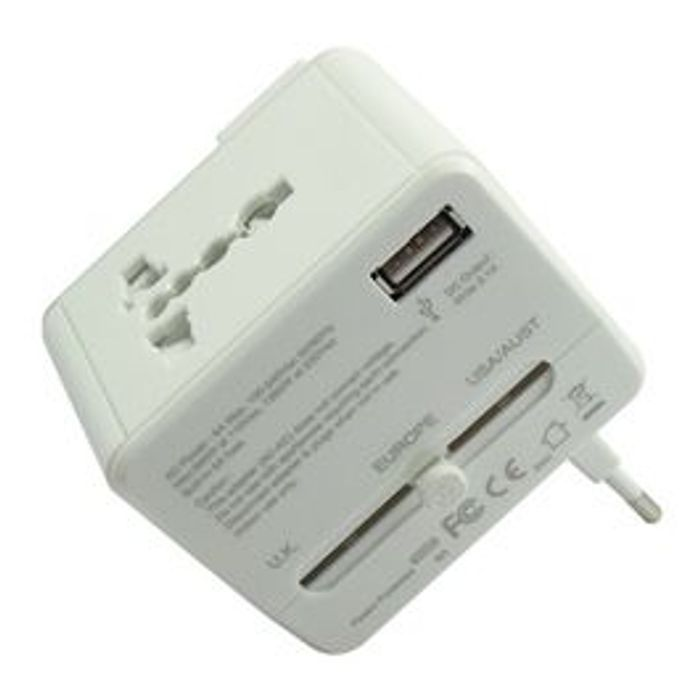 Universal Travel Adapter with Wi-Fi Router *HALF PRICE*