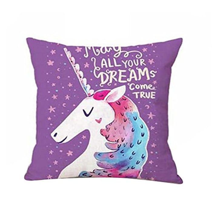 Unicorn Cushion Cover Free Del