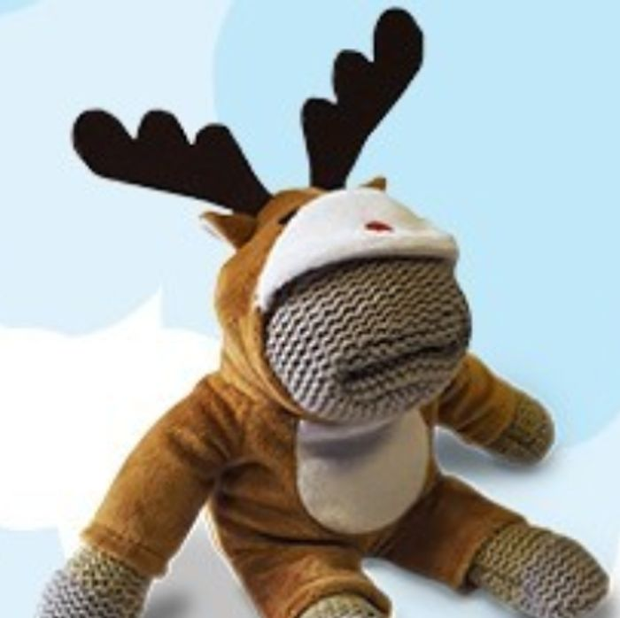 Get Your Limited Edition Monkey with His Reindeer Outfit!