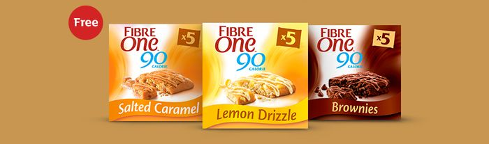 Try Fibre One for Free with your online order at Sainsbury's
