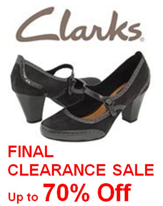 c7814234ea8b FINAL CLEARANCE at Clarks Shoes - up to 70% off BARGAINS!