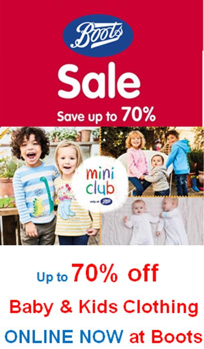 c1c0e788f Boots Mini Club 70% Off ONLINE SALE NOW ON - Baby   Kids Clothes ...