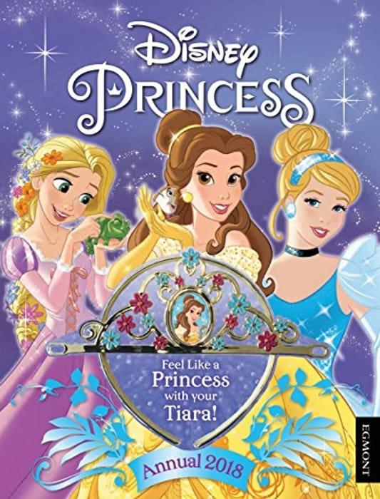 Disney Princess Annual 2018 Includes Tiara