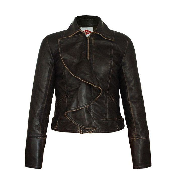 80% off Lee Cooper Vintage PU Jacket Ladies
