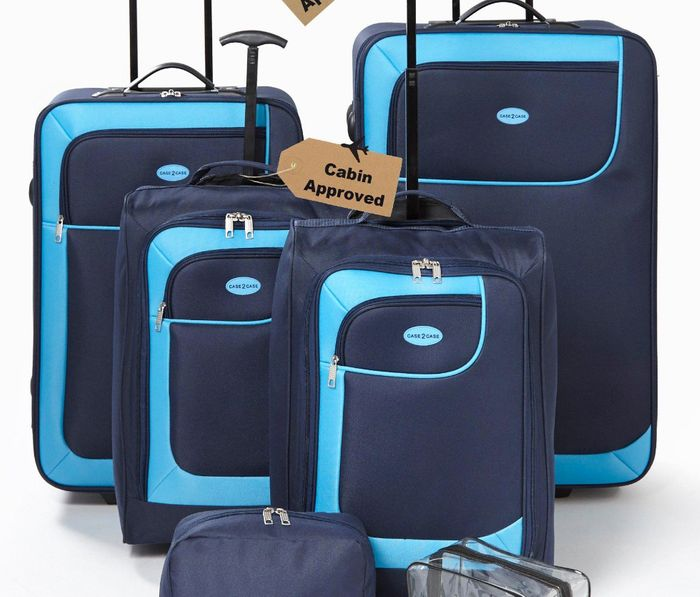 6 Piece Luggage Set - Save £120!
