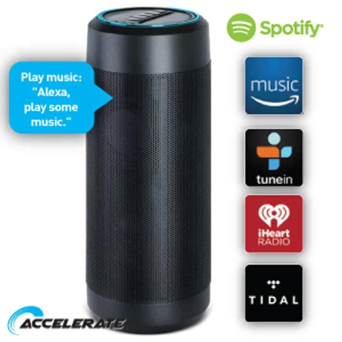 Wireless Speaker with Amazon Alexa