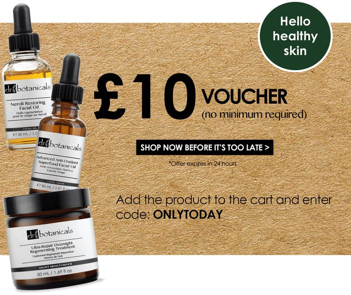£10 Voucher with Code: ONLYTODAY. No Minimum Spend