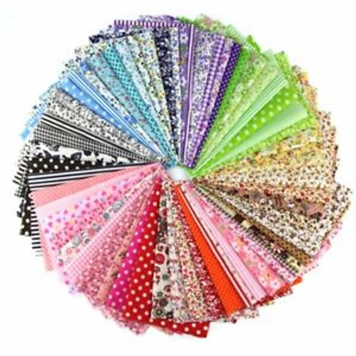 60 Pieces of Fat Quarters Free Delivery