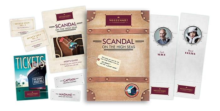 Free Murder Mystery Pack, Raise Money for Macmillan