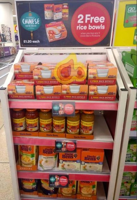 Get 2 Free Rice Bowls When You Buy Any 3 Uncle Bens Products