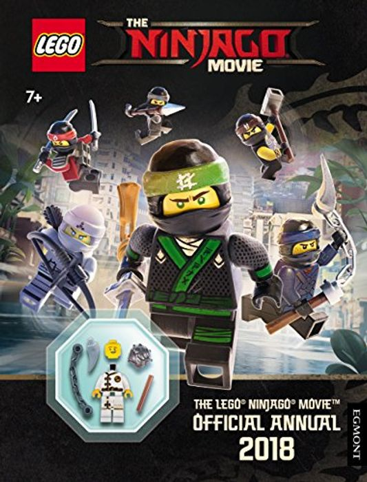 Lego Ninjago & Star Wars 2018 Annuals with Minifigs