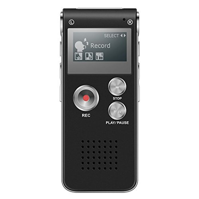 Recharable Dictaphone 8gb (50% Code)