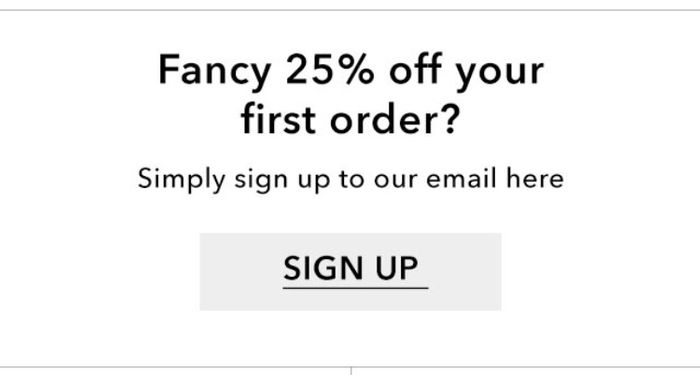 25% off Orders at Miss Selfridge with Newsletter Sign up (Includes Sale Items)