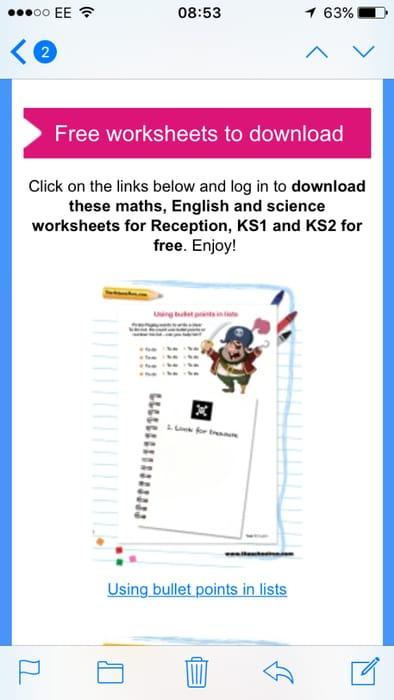 Free Kids Worksheet to Download