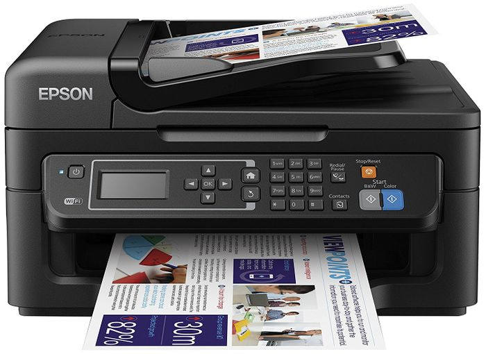 Epson WorkForce Compact Wi-Fi Printer, Scan and Copy with Fax