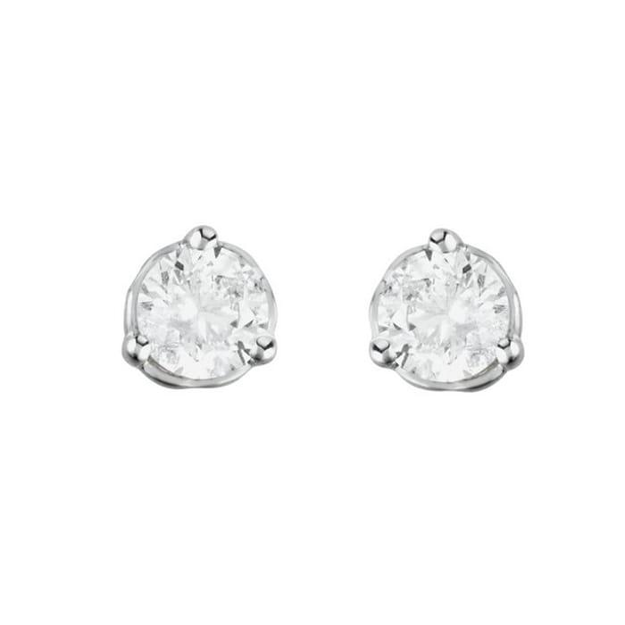 Enchanted 9ct White Gold 0.25ct Tw Diamond Earrings *Less than Half Price*