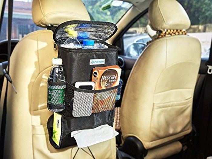 Car Seat Organiser with Cool Bag Section
