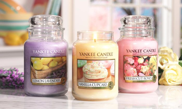 3 X Yankee Candle Classic Large Jars Lucky Dip