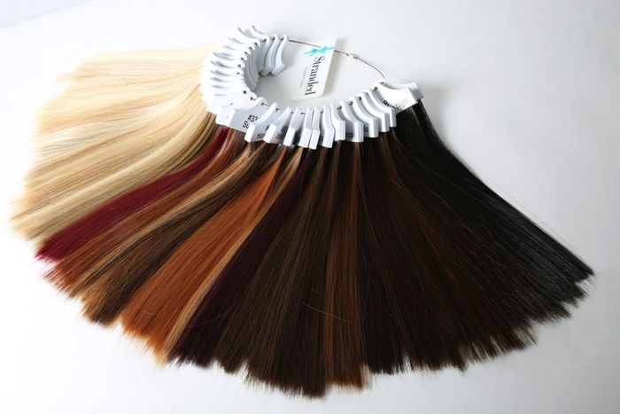 FREE Luxury Hair Extension Colour Samples